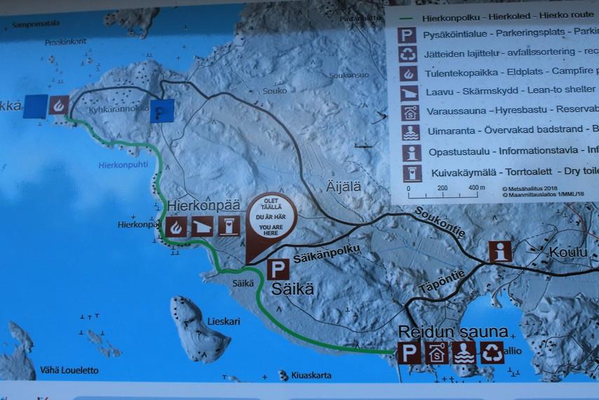 Hierkonpolun kartta