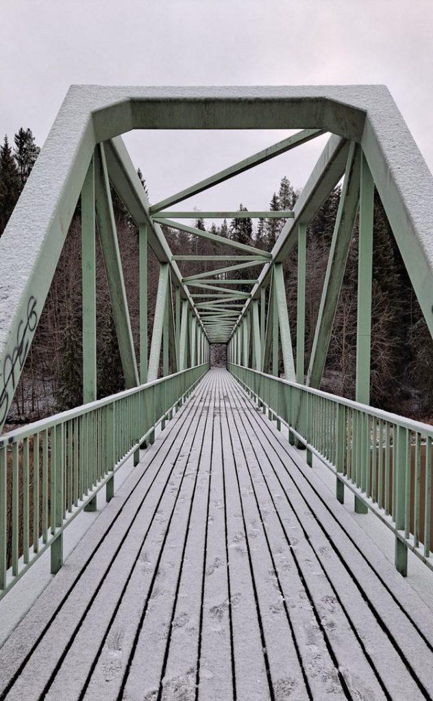 Myllyojan silta Maarian altaalla