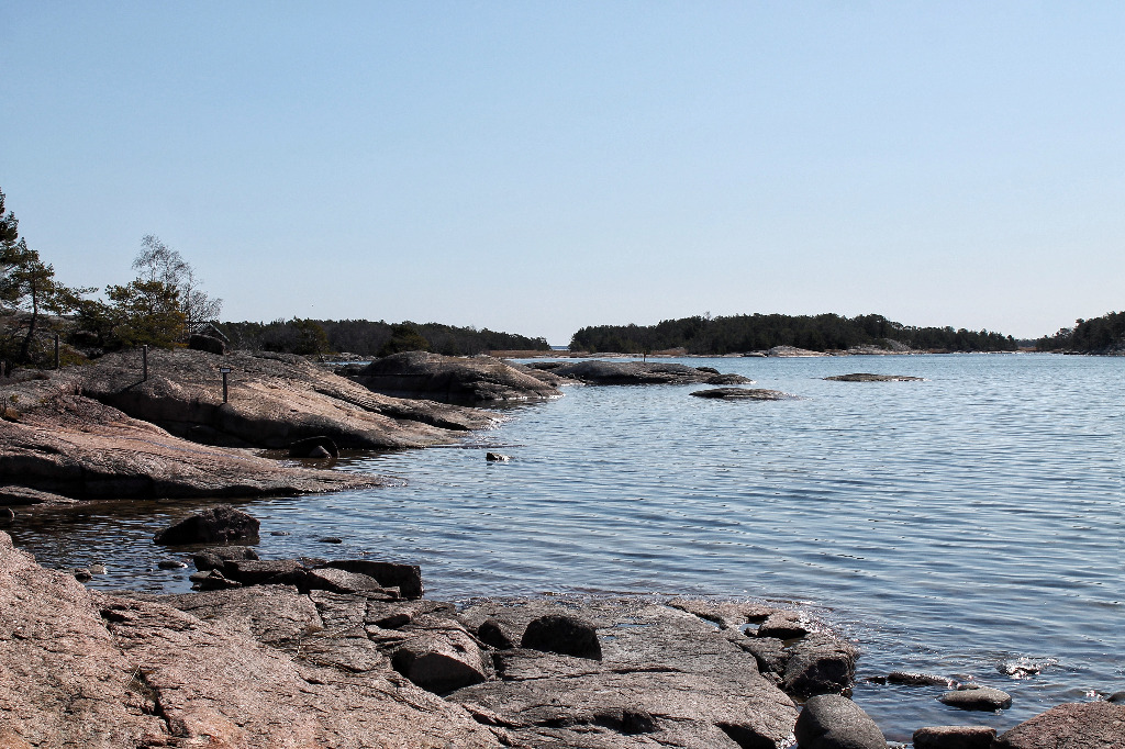 Vuosnaisten luontopolun merimaisemaa